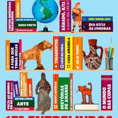 17º Entrelivros: feira de livros e artes integradas