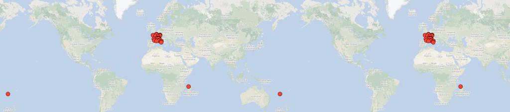 Manifestações ao redor do mundo