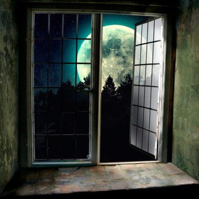 Por uma janela