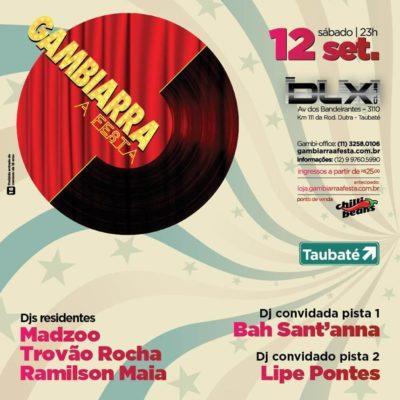 Dlx Club recebe a festa mais premiada de SP: GAMBIARRA