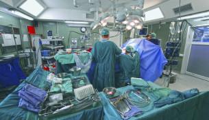 Preparação sala de cirurgia