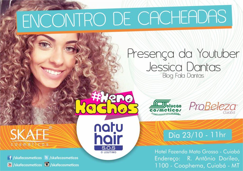 Jéssica Dantas participa de Evento da Skafe em Cuiabá