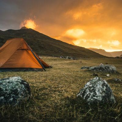 Como é viajar sozinho para a Cordilheira dos Andes?