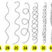 12 tipo de texturas diferentes