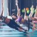 Grupo de mulheres em aula de pilates | Os benefícios do pilates
