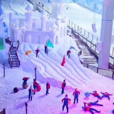 Gramado tem o primeiro parque de neve das Américas