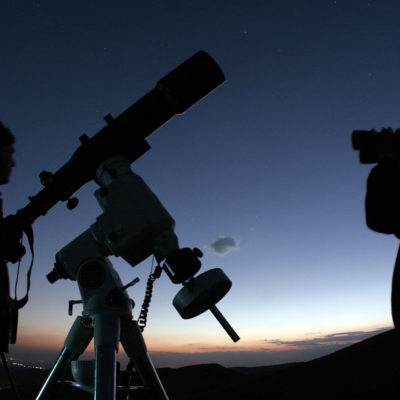 Curso de Astronomia no INPE