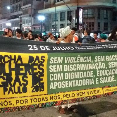 Marcha das Mulheres Negras reuniu arte e política em São Paulo